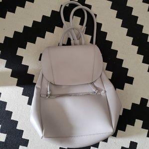 PU vegan leather backpack